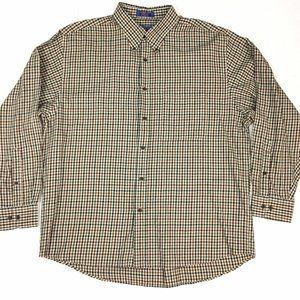 Pendleton Canterbury Plaid shirt Mens size XL
